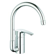 <strong>Grohe</strong> Eurostyle One Handle Single Hole Kitchen Faucet with Watercare