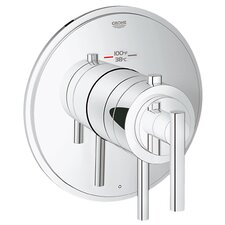 <strong>Grohe</strong> GrohFlex Timeless Single Function Thermostatic Trim with Control Module