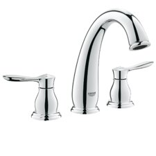 <strong>Grohe</strong> Parkfield Double Handle Widespread Roman Tub Faucet