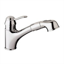 <strong>Grohe</strong> Ashford Pull Out Single Handle Single Hole Kitchen Faucet