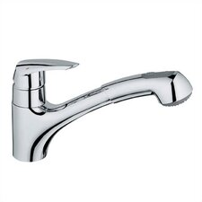 <strong>Grohe</strong> Eurodisc Low Profile Pull Out Single Handle Single Hole Kitchen Faucet
