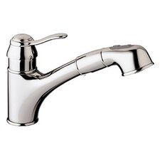 <strong>Grohe</strong> Ashford Eco-Friendly Pull Out Single Handle Single Hole Kitchen Faucet