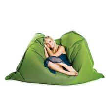 Deluxe Two Tone Beanbag in Green/Black