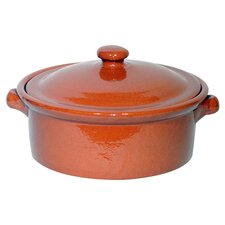 Terracotta Casserole with Lid
