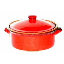 Terracotta Casserole in Red