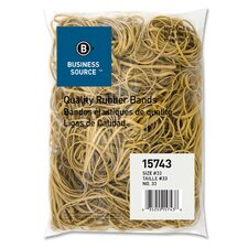 Rubber Bands, Size 33, 1 lb Bag, Natural Crepe