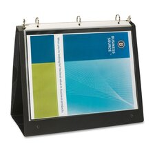 "Presentation Binder, 1"" Capacity, 8-1/2""x11"", Black"