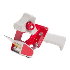 "Handheld Tape Dispenser, for 3"" Core Tapes, Red"