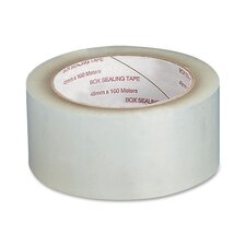 "Sealing Tape, 1.6 mil, 2""x55 Yards, 6 Count, Clear"