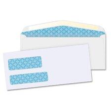Double Window Envelopes,No. 9, 500 per Box,White