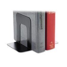"Book End Supports, Standard, 4-9/10""x5-7/10"" 5-3/10"", Black"