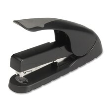 <strong>Business Source</strong> Full Strip Stapler, Anti-slip, 210 Capacity, Black/Gray
