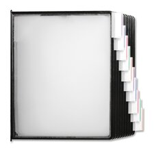 <strong>Business Source</strong> Replacements Panels, f/ Basic/Deluxe Catalog Racks, Clear/Black