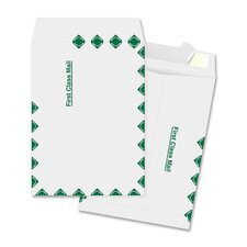 "Catalog Envelopes, 1st Class, 10""x15"", 100 per Box, White"