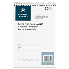 70 Sheet Steno Ruled Notebook