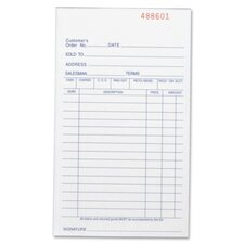 50 Sheet All-Purpose Triplicate Form Book