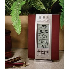 Wireless Cherry Thermometer & Digital Clock