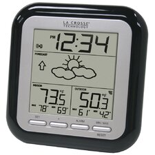 Wireless Forecast Station in Black