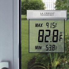 <strong>La Crosse Technology</strong> Wireless Weather Stations Window Thermometer