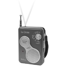 <strong>La Crosse Technology</strong> AM/FM Handheld NOAA Weather Radio