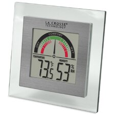 <strong>La Crosse Technology</strong> Comfort Meter and Temperature and Humdity Station