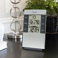 <strong>La Crosse Technology</strong> Equity By La Crosse Desktop Temperature Station with Time Alarm