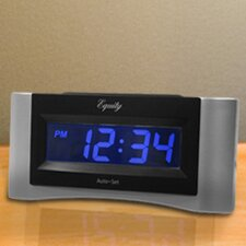 Equity Auto-Set Digital Alarm Clock
