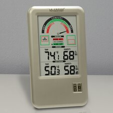 <strong>La Crosse Technology</strong> Comfort Meter with Indoor/Outdoor Temperature and Humidity Monitor