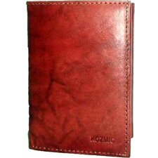 <strong>Kozmic</strong> Leather ID Triifold Wallet