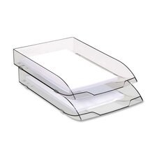 Letter Tray, Stackable, Ice Black