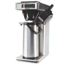 "<strong>CoffeePro</strong> Commercial Brewer,120V,8-1/2""x14-1/2""x21"",Stainless Steel"