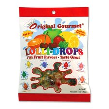 Lollidrops, 5Oz., 24BG/CT, Assorted Flavors