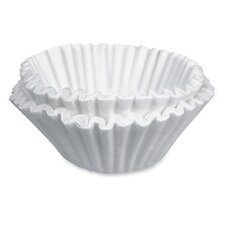 200 Count 10/12 Cup Paper Coffee Filters, 10-12 Cups, 200/PK, White