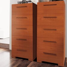 <strong>YumanMod</strong> Wynd 5 Drawer Tall Chest