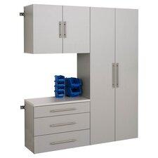HangUps 6' H x 5' W x 1.33' D 3 Piece Storage Cabinet B Set