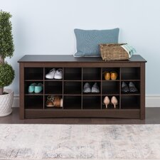 Sonoma Cubbie Storage Bedroom Bench