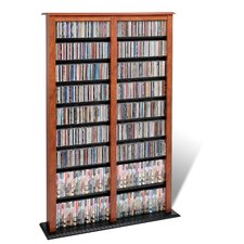<strong>Prepac</strong> Double Barrister Multimedia Storage Rack