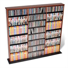 <strong>Prepac</strong> Triple Width Wall Mouted Multimedia Storage Rack