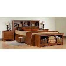Cherry Monterey Platform Bedroom Collection