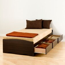 <strong>Prepac</strong> Sonoma Twin XL Platform Storage Bed