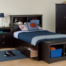 <strong>Prepac</strong> Sonoma Twin Captain Bedroom Collection