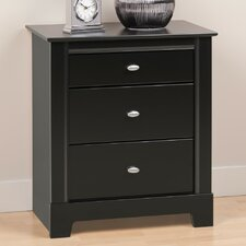 <strong>Prepac</strong> Kallisto 3 Drawer Nightstand