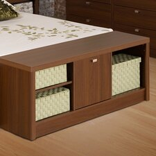 Bedroom Cubbie Storage Bench