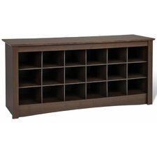 Sonoma Cubbie Storage Bench