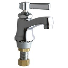 <strong>Chicago Faucets</strong> Singgle Hole Cold Water Bathroom Faucet with Single Lever Handle