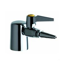 980 Turret with Single Ball Valve with Removable Serrated Hose Nozzle