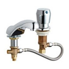 Concealed Single Handle Widespread Bathroom Faucet