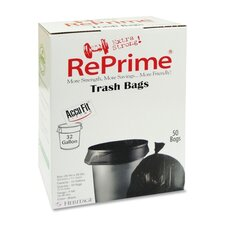 Reprime Can Liners, 32 Gal, .90 Mil, 50/Box
