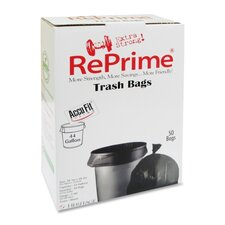Reprime Can Liners, 44 Gal, .90 Mil, 50/Box