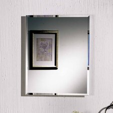 "Horizon 16"" x 26"" Recessed Beveled Edge Medicine Cabinet"